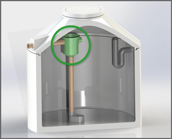 1. Reinigungsstep von Regenwasser - Regenwasser nutzen