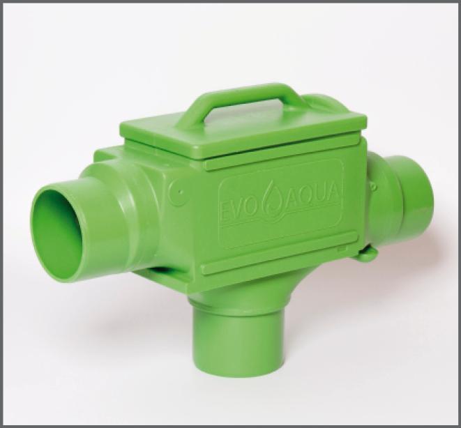 Filter Evo Integral INOX DN 100 - Regenwasser nutzen
