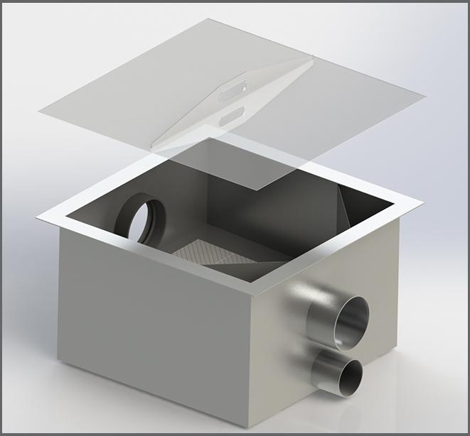 Filter Evo Commercial DN 150 - Regenwasser nutzen