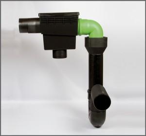 Regenwasserfilter Evo Integral Combi K - Regenwassre nutzen
